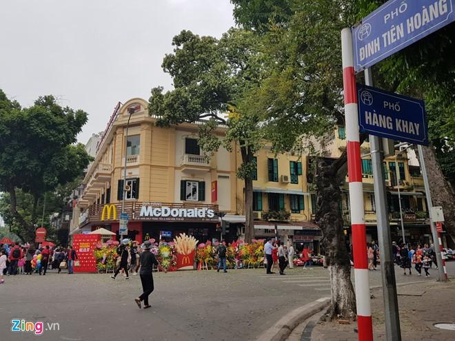 Zara, H&M, McDonald's tốn bao nhiêu tiền để thuê mặt bằng tại Hà Nội?