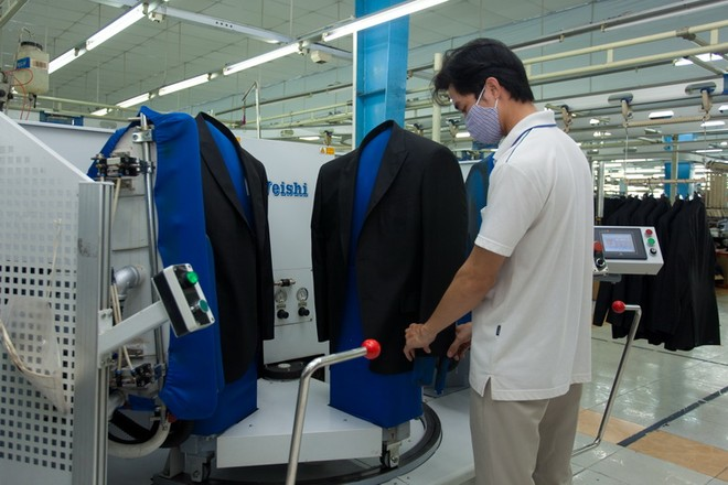 Năm 2017, thặng dư thương mại dệt may đạt 15,5 tỷ USD