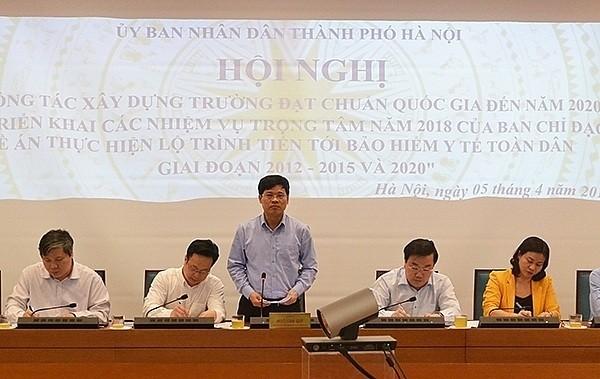Tỷ lệ bao phủ BHYT của Hà Nội đạt 83,8% dân số