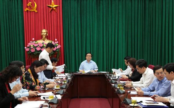 Hà Nội: Thí điểm kiêm nhiệm một số chức danh lãnh đạo chủ chốt quận, huyện, thị xã