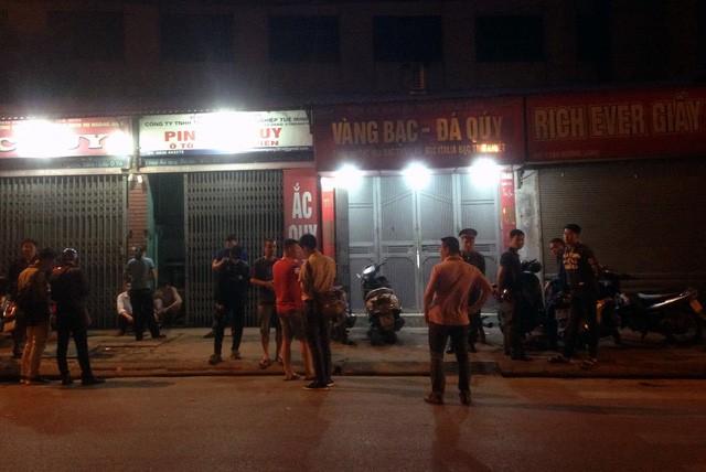 Hà Nội: Nghi án cướp tiệm vàng, một đối tượng bị bắt giữ