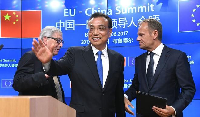 """EU chỉ trích """"Vành đai và Con đường"""" của Trung Quốc là không công bằng"""