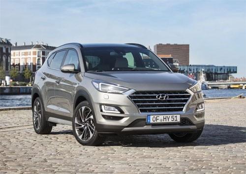Hyundai Tucson lần đầu tiên có bản hybrid