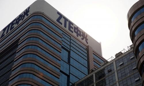 Đại gia viễn thông ZTE của Trung Quốc mất một phần tư vốn hóa sáng nay