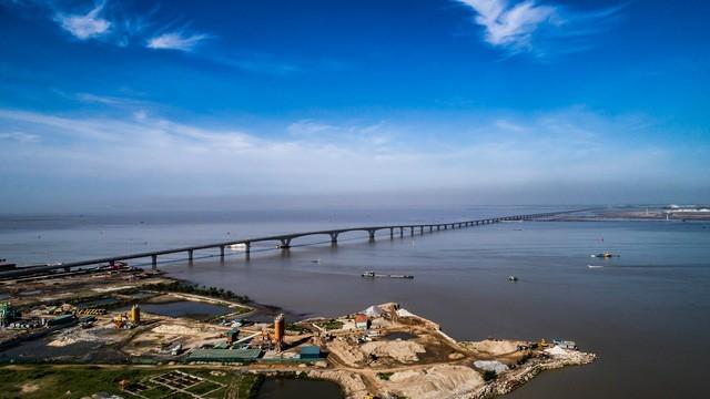 """Hải Phòng """"xin"""" xây cầu mới 7.000 tỷ đồng vì cầu Tân Vũ - Lạch Huyện đã quá tải"""
