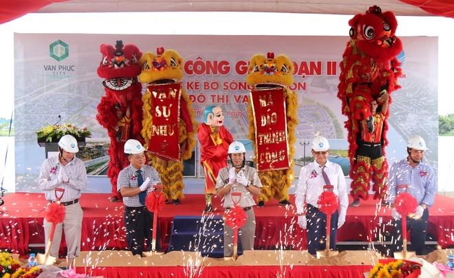 Chi 300 tỷ đồng xây dựng 3,4 km kè sông Sài Gòn tại Khu đô thị Vạn Phúc