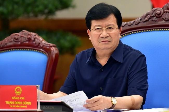 Phó Thủ tướng Trịnh Đình Dũng làm Trưởng ban Ban Chỉ đạo liên ngành tái cơ cấu ngành nông nghiệp