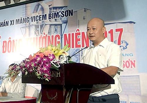 Vì sao nguyên Tổng giám đốc Xi măng Việt Nam Trần Việt Thắng bị cách chức?