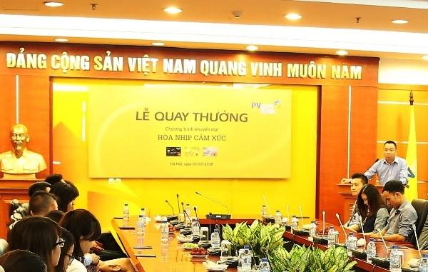 Khách hàng PVcomBank trúng chuyến du lịch 80 triệu đồng