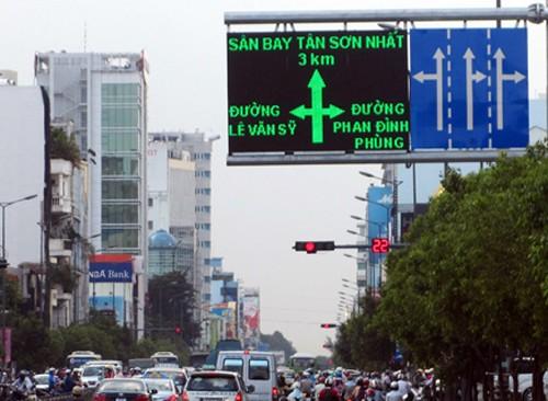 TP HCM đưa thông tin ô nhiễm môi trường lên bảng điện tử