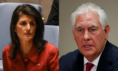 Nội các Trump bất đồng quan điểm về Syria
