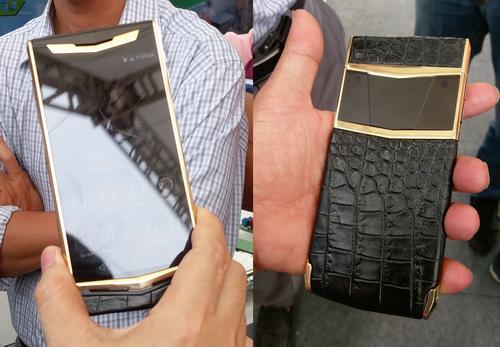 Lộ smartphone 'siêu bảo mật' giá 1.000 USD của nhà mạng Việt