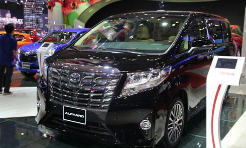 Toyota Alphard - xe đa dụng giá 3,5 tỷ tại Việt Nam