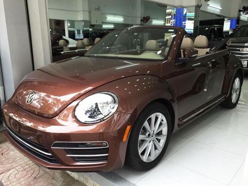 Volkswagen Beetle Convertible - mui trần giá gần 2 tỷ tại Việt Nam