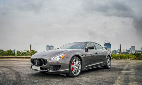 Maserati Quattroporte - siêu xe đường phố giá 6 tỷ đồng