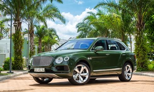 Bentley Bentayga - SUV siêu sang hàng thửa của đại gia Việt