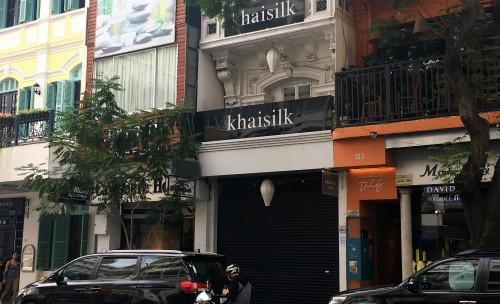 Ông chủ Khaisilk đóng toàn bộ cửa hàng, thu hồi sản phẩm