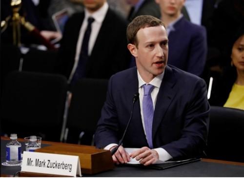 Cổ phiếu Facebook tăng mạnh nhất 2 năm khi CEO điều trần
