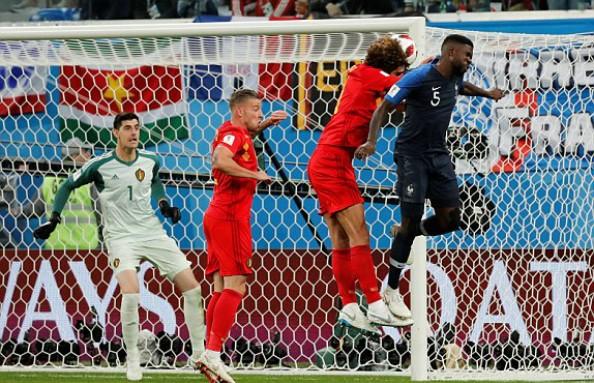 Pháp 1-0 Bỉ: Cú đấm từ hàng thủ