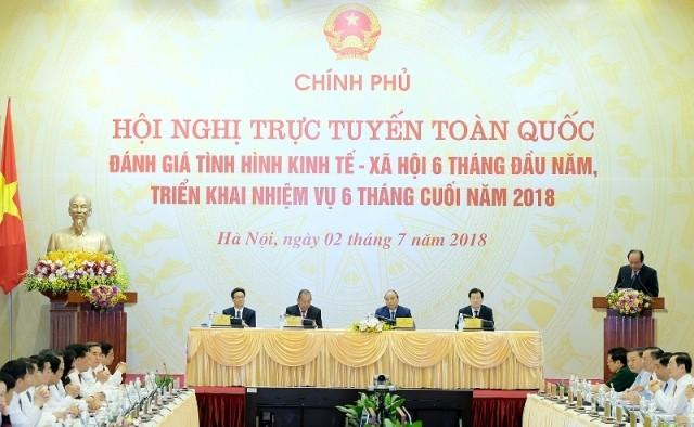 Chính phủ họp trực tuyến với các địa phương: Thủ tướng đề nghị không nêu nhiều thành tích