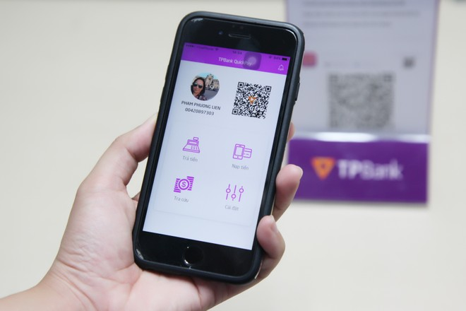 TPBank sắp cho ra mắt ứng dụng thanh toán mới bằng mã QR