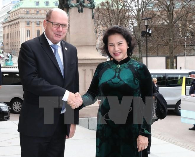 Chủ tịch Quốc hội Thụy Điển ủng hộ EU sớm ký kết chính thức và phê chuẩn FTA Việt Nam - EU