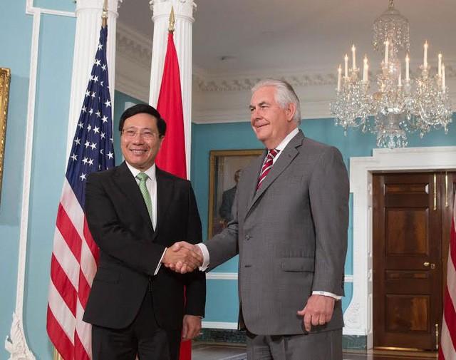 Ngoại trưởng Mỹ xác nhận Tổng thống Donald Trump sẽ thăm Việt Nam