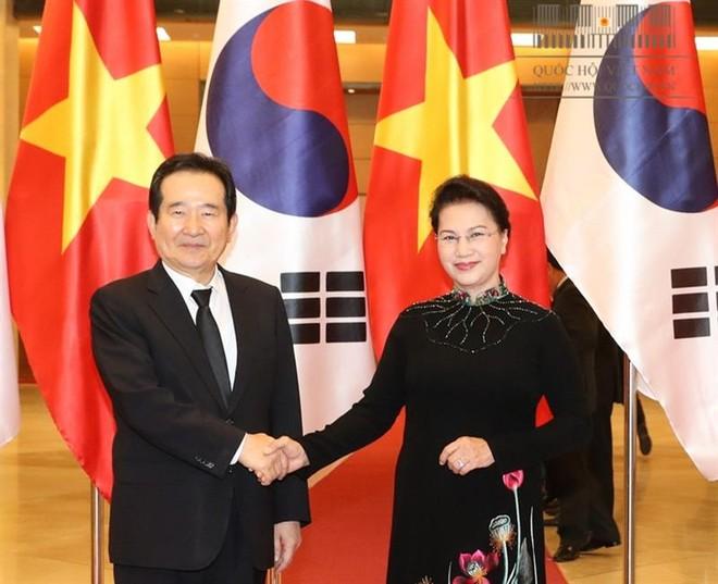 Mong muốn Việt Nam coi Hàn Quốc là đối tác quan trọng hàng đầu trong quan hệ kinh tế, thương mại, đầu tư