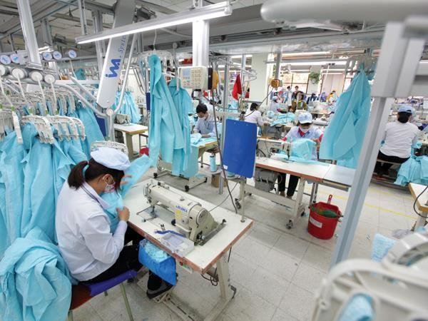 FDI dồn vào dệt may nhằm tạo chuỗi khép kín