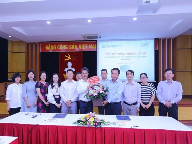 Báo Đầu tư hợp tác với Trung tâm Xúc tiến Đầu tư, Thương mại, Du lịch Hà Nội