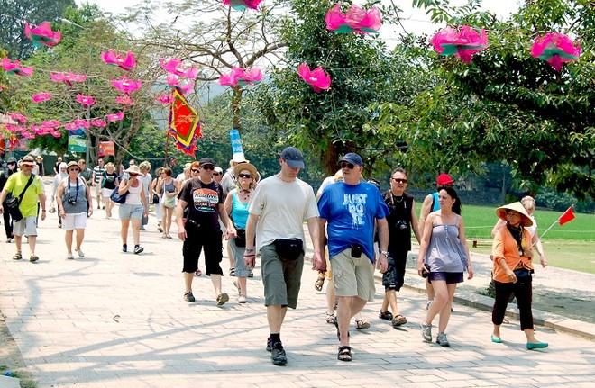 Khách du lịch quốc tế đến Việt Nam tăng mạnh