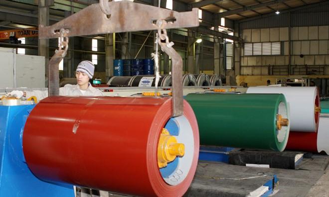 Thêm 4 doanh nghiệp được miễn trừ thuế nhập khẩu tôn màu năm 2017