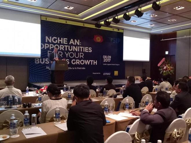 Mavin cam kết đầu tư 80 triệu USD vào Nghệ An