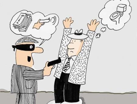 """Nguyên tắc """"bất động"""" khi gặp cướp ngân hàng"""