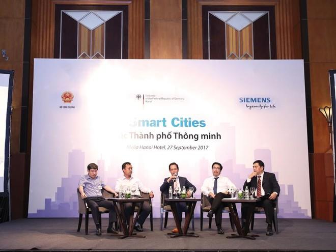 Siemens hỗ trợ Việt Nam phát triển thành phố thông minh