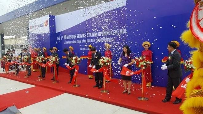 Khai trương trạm xăng dầu 100% vốn nước ngoài đầu tiên tại Hà Nội