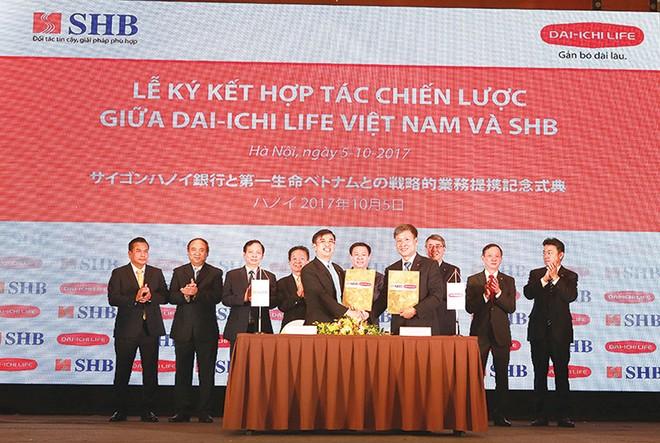 SHB và Dai-ichi Life Việt Nam: Hợp tác cùng phát triển