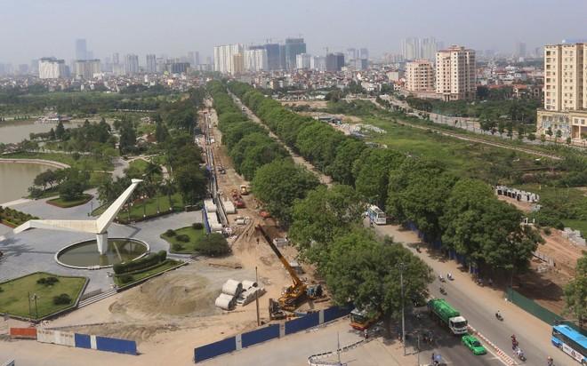 Khởi công xây dựng cầu cạn 5.300 tỷ đồng đoạn Mai Dịch - cầu Thăng Long trong tháng tới