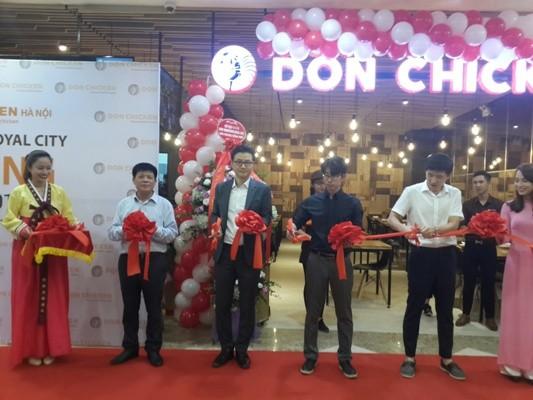 Donchicken chính thức mở cơ sở 2 tại Royal City