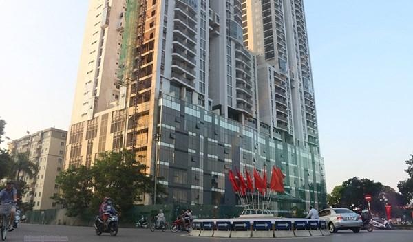 Tòa nhà New Skyline còn nhiều tồn tại, không đảm bảo các yêu cầu về an toàn PCCC