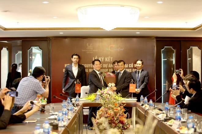 Tân Hoàng Minh ký hợp đồng tổng thầu thiết kế và thi công Dự án Nam Đại Cồ Việt