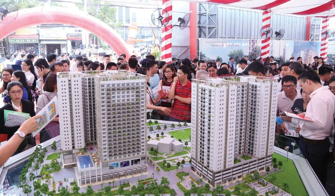 """TP.HCM: thị trường căn hộ """"vượt cạn"""" thành công"""