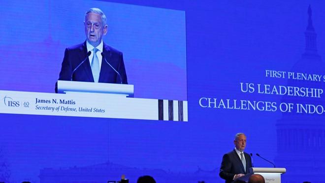Bộ trưởng Quốc phòng Mỹ: Không nước nào nên thống trị châu Á