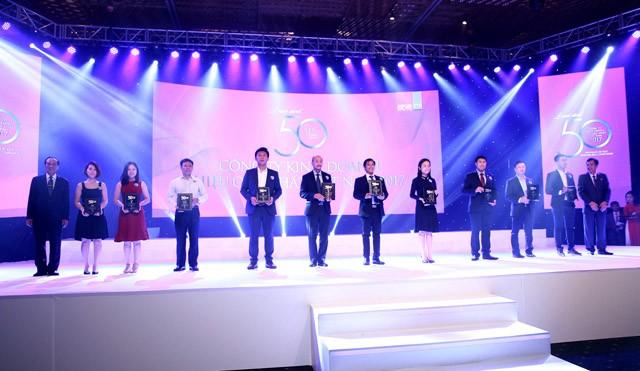 PJICO lọt Top 50 công ty kinh doanh hiệu quả nhất Việt Nam