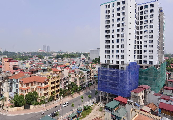 """Sai phạm xây dựng """"băm nát"""" quy hoạch đô thị Hà Nội"""