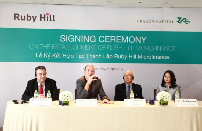Dragon Capital hợp tác Tập đoàn Loi Hein thành lập công ty tài chính tại Myanmar