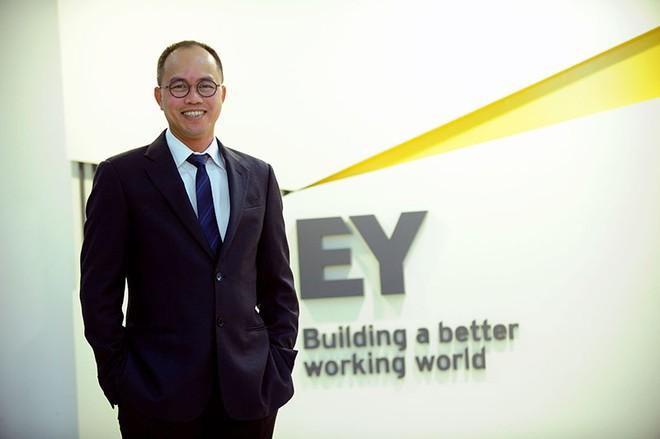 """CEO Ernst & Young Việt Nam Trần Đình Cường: """"Trong tôi chỉ có một nửa là doanh nhân"""""""