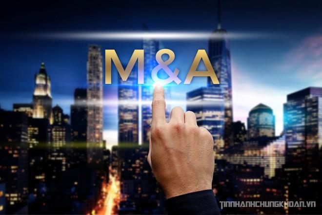 Sôi động M&A bất động sản trên sàn chứng khoán