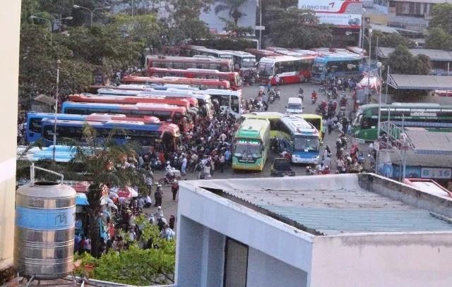 Vé xe khách tăng đến 40% dịp nghỉ lễ 30/4