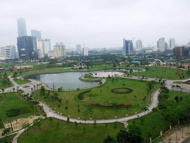 Xây dựng 5 công viên tại Hà Nội trong năm 2015